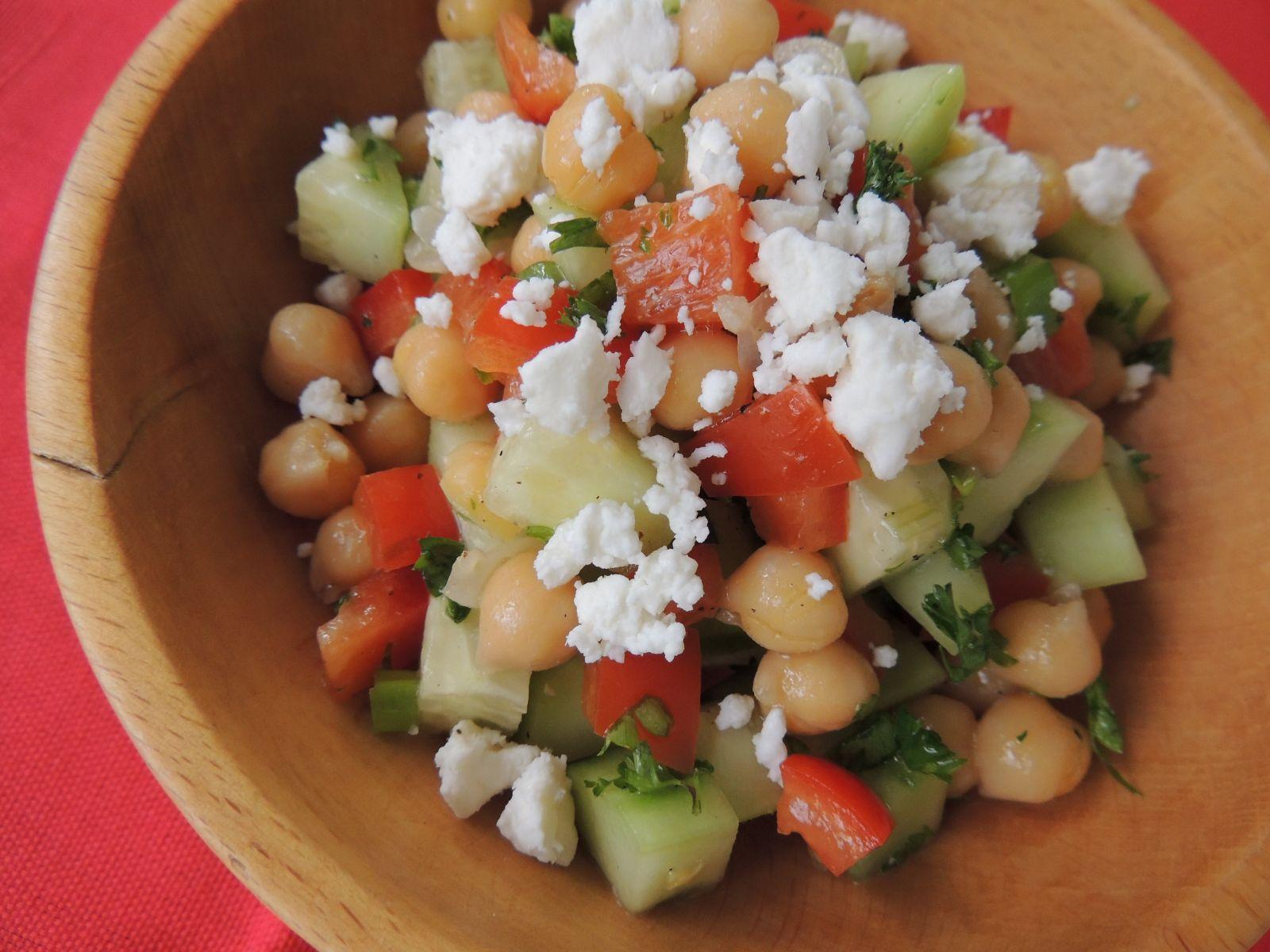 Chickpea Cucumber Salad - Oryana Community Co-op